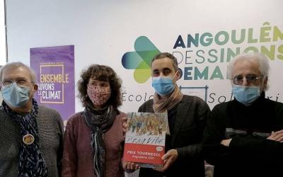 Le prix BD Tournesol au festival international de la bande dessinée d'Angoulême